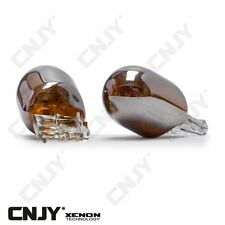 2 AMPOULES CHROME ORANGE WY21W W21W T20 7440 ECLAIRAGE ORANGE REPETITEUR 12V