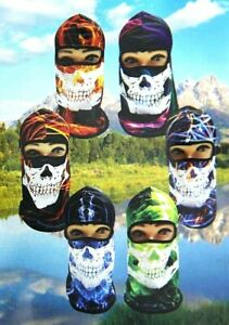 SKELETON CAMOUFLAGE FULL FACE MASK OUTDOOR SPORTS HUNTING SUN PROTECTION