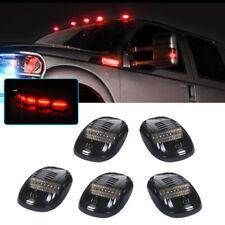 Smoke Lens Red Led Cab Roof Marker Lights For 2003-2018 Dodge Ram 2500 3500 etc