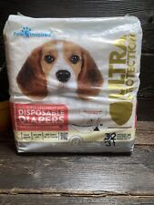 Paw Inspired D Medium Dog Diapers ❗️31 Ct.❗️Disposable Super Absorbent 31 Pieces