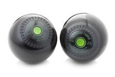 Drakes Pride Hi Density Deluxe Black Or Brown Crown Green Bowls (pair) - B2221