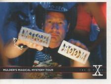 "The X-Files Season 10 ""Babylon"" DOUBLE-SIDED Promo Trading Card No.3"