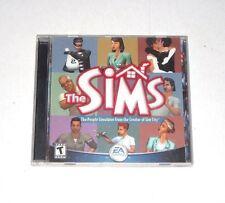 The Sims PC CD-ROM Game 2000 Windows People Simulator Complete Original Classic