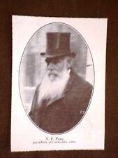 Nikola Pašić o Никола Пашић Primo Ministro di Serbia