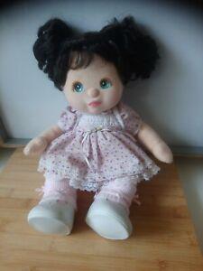 Mattel Poupée My Child mon enfant brune yeux bleus très belle état vintage