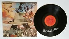 Wayne Shorter of Weather Report REAL hand SIGNED Heavy Weather Vinyl Record COA