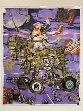 Mu Pan art print Super Saian George With Trojan Horse Loyal Retainer Midsommar