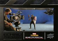 Thor Ragnarok (Upper Deck 2018) BEHIND THE LENS Trading Card Insert BTL10