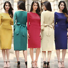 New Fashion Women's Formal Career Dress Party Evening Cocktail Summer Dresses