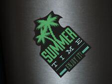 1 x ADESIVI Summer Time enjoy it ESTATE SOLE VACANZA SPIAGGIA Fun gag Stciker US