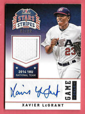 2015 Xavier LeGrant Panini USA Stars and Stripes Rookie Auto Jersey 97/99