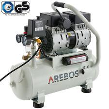 Druckluft Flüster Kompressor Luftkompressor 500W 12L Druckbehälter ölfrei 54.5dB