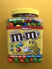 M&M's® Peanut CANDY 62 oz. Pantry Size BULK Vending Halloween Christmas PARTY