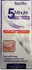 Natural White  5 Minute Tooth Whitening System  FREE S/H!!! BEST DEAL ON EBAY!!