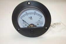 Dc 0 300ma Round Analog Ammeter Panel Amp Current Meter Dia 90mm Direct Connect
