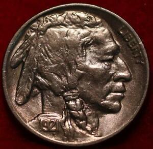 Uncirculated 1921  Philadelphia Mint  Buffalo Nickel