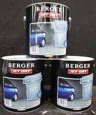 BERGER  4 LITRE JET-DRY GARAGE-FLOOR PAVING OIL/BASE  EVENING-STONE COLOUR PAINT