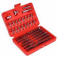 100 Piece Magnetic Screwdriver Bit Set Drill Drive Bits Accessories Steel Tools