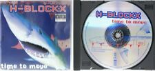 H-Blockx - Time to Move - CD Album - Pour me a glass - Go freaky
