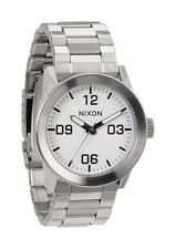 New Nixon Private SS White Men's Watch A276100 A276-100
