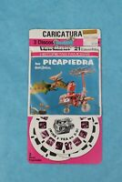 VINTAGE VIEW-MASTER 3D REEL PACKET 514-S FLINTSTONES IN SPANISH SEALED ON CARD