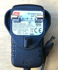 Genuine JBL ON STAGE Micro Power Supply Adapter Cord 6V DC 1.5A KSAFC0600150W1UK
