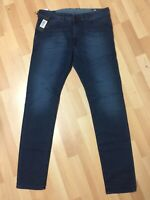 Mens Diesel THOMMER Stretch Denim 0686A DARK BLUE Slim W33 L32 H6 RRP£150