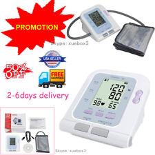 LCD Digital Blood Pressure Monitor Heart Rate Beat Pulse Meter Measure,Promotion