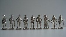 Ferrero Metallfiguren Westermänner indianer Chrome 40mm metalen cowboy