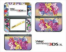 SKIN STICKER - NINTENDO NEW 3DS XL -  REF 175 MY LITTLE PONY