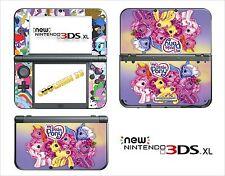 SKIN STICKER - NINTENDO NEW 3DS XL -  REF 175 MY LITTLE PONY