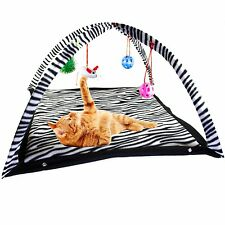 Pet Cat Sleep Play Bed Activity Playing Toy Exercise Tent Kitten Pad Cushion