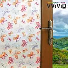 "Frosted Kids Butterfly Window Glass Privacy Home Decor DIY Vinyl Film 36"" x 25ft"