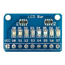 24mA 8Pcs LED Bar Marquee Display Module With 4 Kinds of Color for Arduino MA