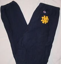 AWESOME RARE VINTAGE CHAMPION NOTRE DAME REVERSE WEAVE SWEATPANTS-SIZE 2XL-WOW!