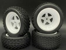x4 1/10 2WD Buggy Front and Rear wheel rim tire Rc car For kyosho 30616 30625