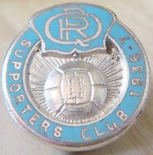 Queens Park Rangers 1936-37 partidarios insignia del club Maker BCM Hinds Ojal