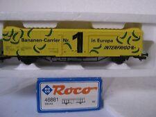 ROCO HO/DC 46881 bannanen Carrier INTER FRIGO 8259 500-0 DB AG (rg/cn/84-14r3/3)