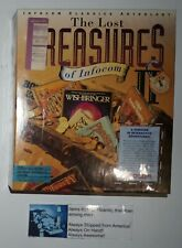 """The Lost Treasures of Infocom II 2 PC CD-ROM Game For IBM & MAC 3.5"""" Disk SEALED"""