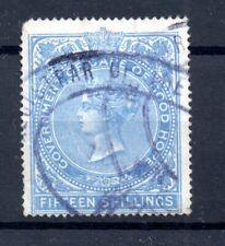 Cape of Good Hope QV 15/- blue Revenue WS17950