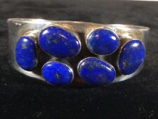 Sterling Silver Lapis Bracelet Made In China.