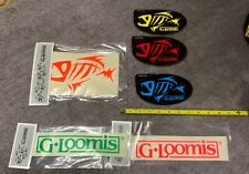 G. Loomis Sticker/Decal Assortment - Mixed Colors in Photo