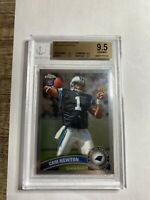 2011 Topps Chrome #1A Cam Newton Rookie BGS 9.5 GEM MINT Carolina Panthers RC