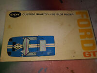 Vintage 1/32 Cox Ford GT Box with Chassis