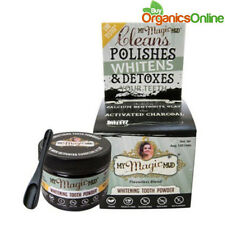 My Magic Mud Whitening Detoxifying Tooth Powder w/ Activated Charcoal 30g