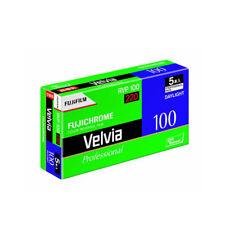 5 Rolls Fujifilm Velvia 100 RVP100 220 Color  Reversal Slide  Film Fresh 07/2020