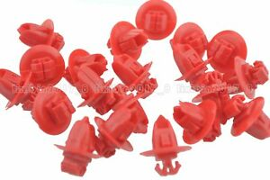 20x Push-Type Bumper Clips Fender Retainer A20391 For Toyota 90904-67037