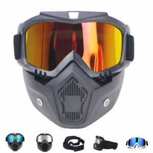 Ski Snowboard Mask Men Women Winter Skiing Goggles Windproof Snowmobile Glasses