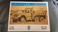 Mirror Models #35801 - US Diamond T 969A Wrecker Soft Top Cab. 1/35th scale.