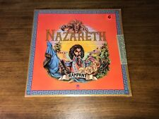 NAZARETH ~ RAMPANT ~ ORIGINAL FIRST PRESS LP ~ STILL IN SHRINK ~ RARE!  1974